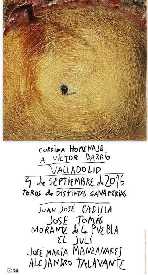 Valladolid 2016. Hommage Victor Barrio.