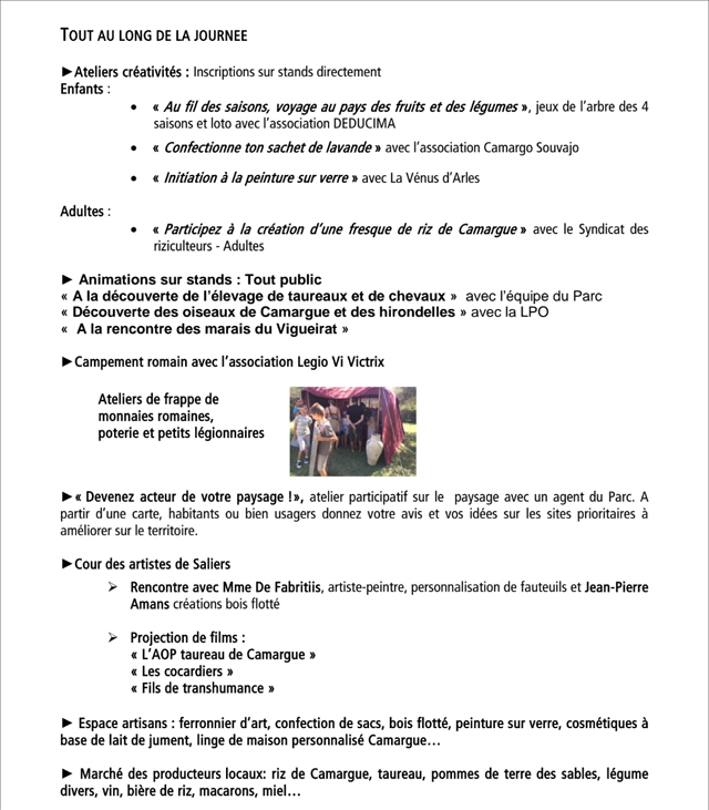 Fête du Parc Naturel Régional de Camargue avec l Ecole Taurine d Arles. 479631df9fa
