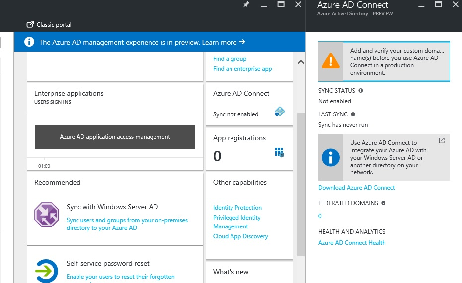 Azure Basics Part 7 - Syncing Azure AD with local AD | Toroman
