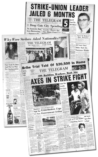1961 strike clippings
