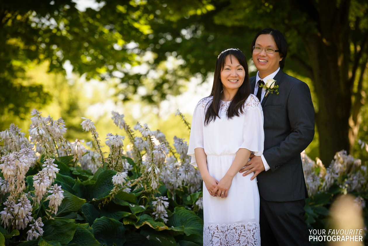 Wedding photography on Toronto Islands by Your Favourite Photographer