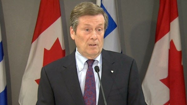 Mayor John Tory to table motion recommending abolition of ...