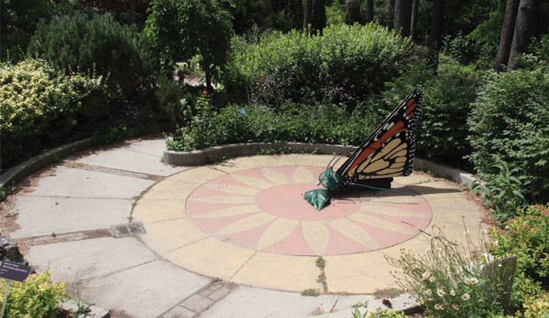 The Spiral Butterfly Garden: Marked With A Giant Butterfly Sundial, This  Garden Teaches Children How The Movement Of The Sun Affects Plants, And  Features ...
