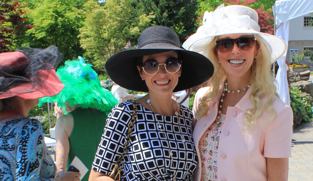 two ladies in their hats 2013