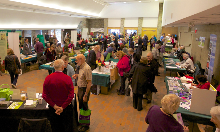 jump on spring booths in floral hall