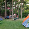 tbgkids sleepover tents in the woods