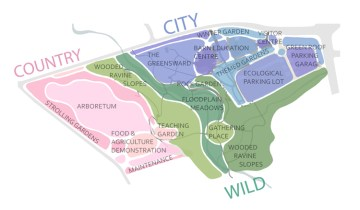 city country wild map