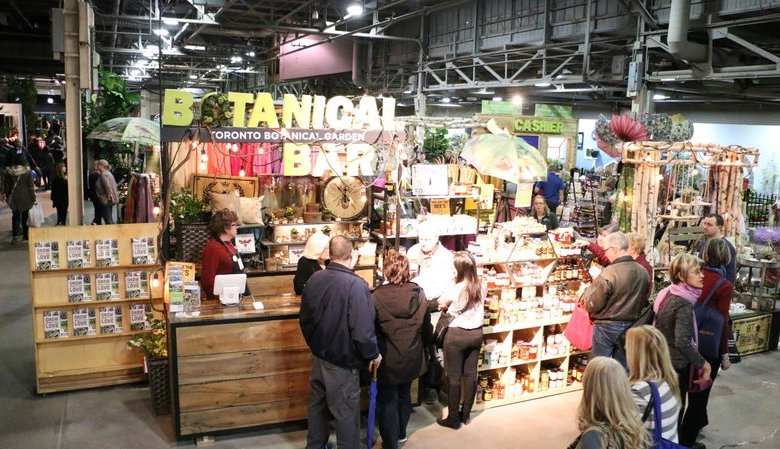 TBG's booth at Canada Blooms 2018