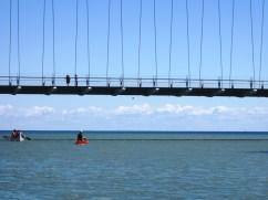 Under the Humber Bridge