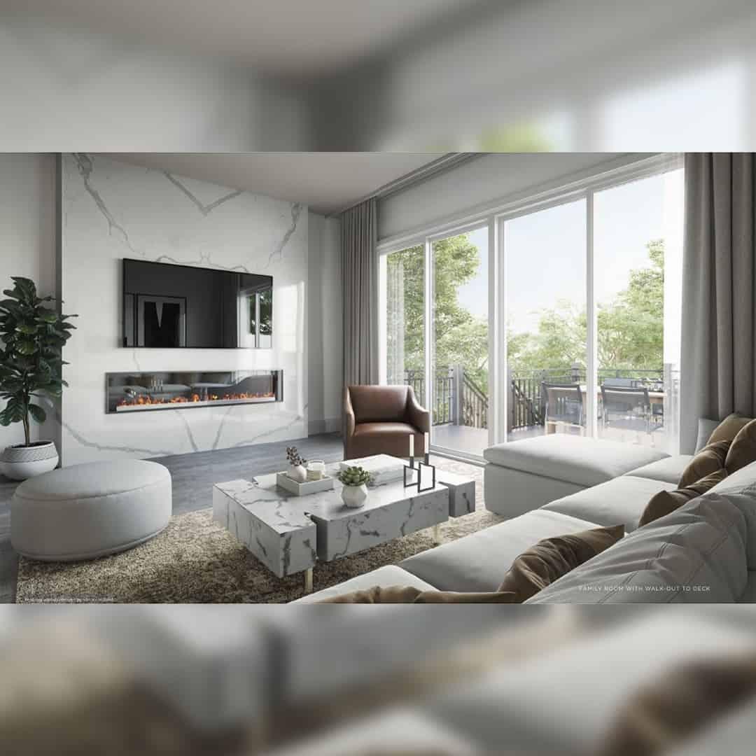 La Reserve living room