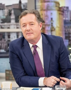 TV person Piers Morgan