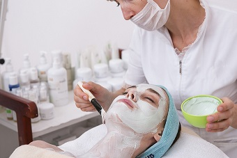 facial cosmetic peel treatment for skin.