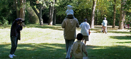 Guildwood Park is a dream location for photographers and their families.