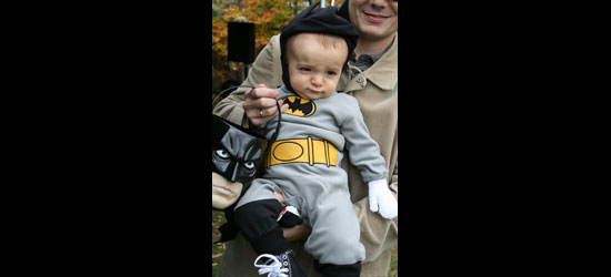 Holy baby, Batman!