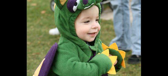A little dragon.