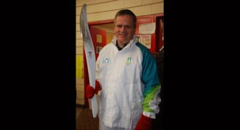 2010 Olympic torchbearer Frank Peruzzi.