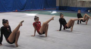 Canadian Junior Rythmic Gymnastics team