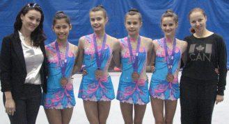 Ilinca Nita-Saguna, Melodie Omidi, Anjelika Reznik, Victoria Reznik, Katrina Cameron and Tatsiana Kastsenkava