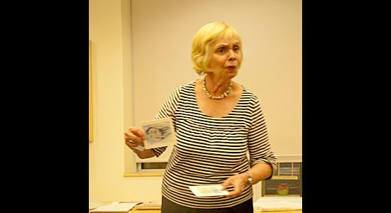 Storyteller Adèle Koehnke brings her grandmother Doris Huestis Mills Speirs' story and art to life at Morningside Library Oct. 7. Speirs was a writer, naturalist and contemporary painter of the Group of Seven.