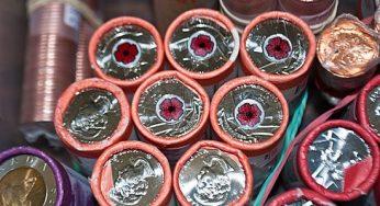 Mint condition quarter rolls