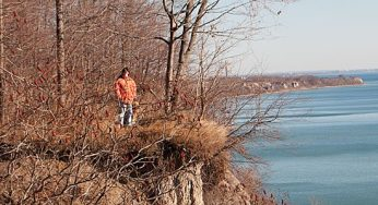 Residents are free to roam the cliffs of the Scarborough Bluffs, but they are encouraged to be safe and responsible.