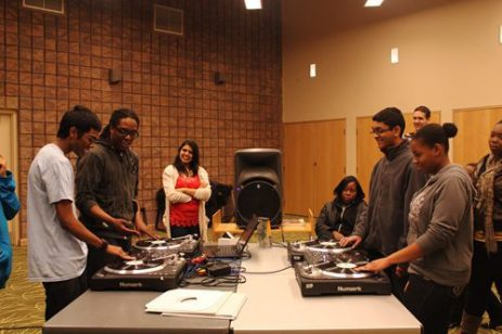The DJ program, hosted at the Malvern Public Library.