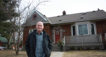 Fred Auchterlonie, houseowner on Queensgrove Road, insisted that residents' choices should be respected by Toronto Hydro before it goes on to upgrade the neighbourhood.