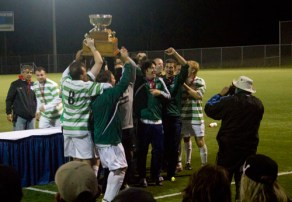 Hoisting the Cup