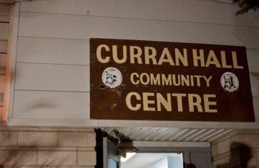 Curran Hall Community Centre is located near Morningside Park in Scarborough.