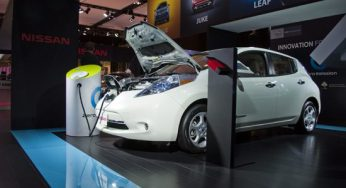 The Nissan LEAF, winner of the 2011 World Car of the Year award, boasts a fuel economy equivalent of 2.4L/100 KM.