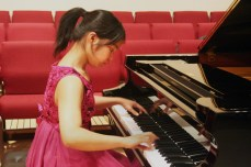 Annie Zhou plays Chopin's Etude Op. 10, No.8, during the Scarborough Bluffs Concert Series.