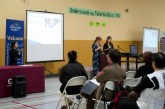 Dr. Elizabeth Rea (left) from Toronto Public Health and Dr. Reena Lovinsky (right) from The Scarborough Hospital gave an interactive lecture on TB.
