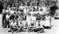 Duke of Connaught Public School's graduating class of 1952. The school marked its 100th anniversary with a homecoming celebration on Oct. 20.
