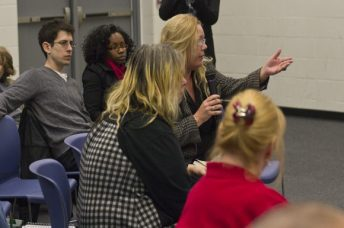 A dozen residents raised questions ranging from capital punishment to witness protection program.