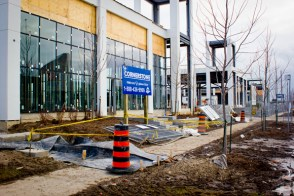 The ONE retail centre at Eglinton and Lebovic is a mixture of shopping spots, restaurants, office and condo space. Opening March 2013.