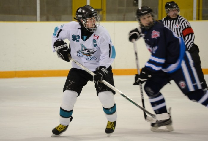 Scarborough Sharks captain, Emily Nicholls, believes her team should do well in the playoffs.