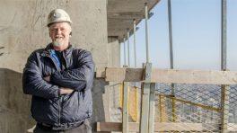 Crane operator Rob MacFarlane.
