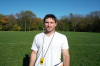 Luis Foulidis Sir Wilfred Laurier C.I head coach (Chris Perrotte)