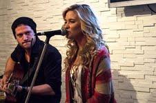 Tara Oram sang two songs at the PSA launch.