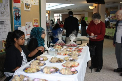 The bake sale and sandwich luncheon were also a huge hit and also yummy.
