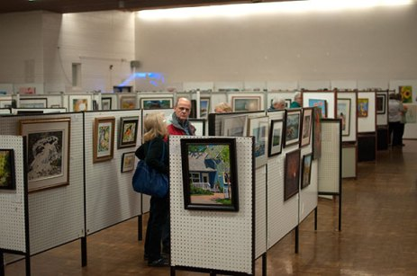 The Art Guild of Scarborough aims to bring community members together by showcasing work by local artists. Visitors this year's Fall Art Show were able to purchase art and help support their local artists.