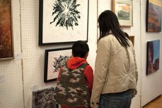 The annual fall show and sale has continues to be a highlight of the Art Guild of Scarborough's calendar, as it has been for 51 years. The annual spring show and sale will follow in the new year.
