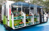 A newly remodelled TTC Wheel-Trans bus will now serve as the food truck for the Mobile Good Food project.