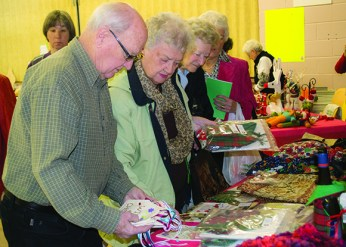The 19th Annual Christmas Bazaar at Birkdale Community Centre, was swamped with Christmas Shoppers on Nov 23
