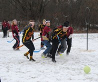 UTSC's teams battle it out on Quidditch game grounds.