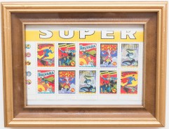 In 1995, Canada Post recognized Canada's comic book heritage.