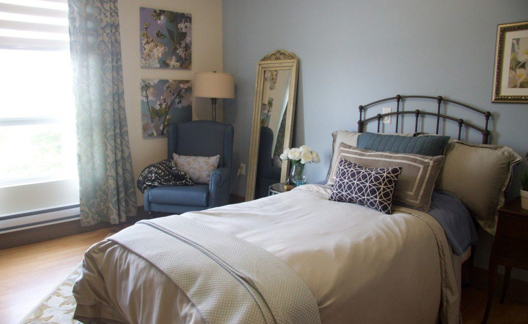 patient bedroom at One Kenton