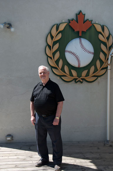 Dick MacPherson, a former mayor of St. Marys, was instrumental in bringing the Hall of Fame to town.