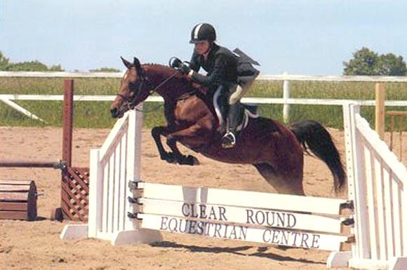 One of Rebekah Oakley-Woolhead's riders in 2006.