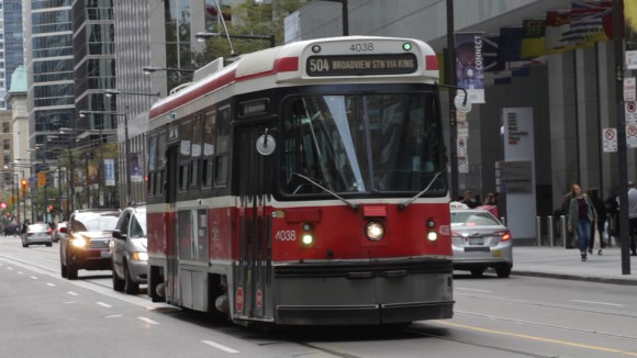 King Street's streetcars transport tens of thousands of Torontonians daily, but has some of the most serious issues that causes the route to be very slow.